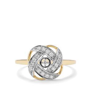 1/5ct Argyle Diamond 10K Gold Ring