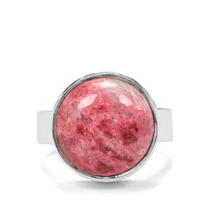 9ct Thulite Sterling Silver Aryonna Cuff Ring
