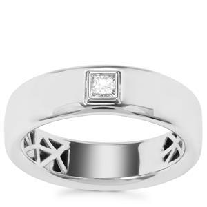 Diamond Ring in Platinum 950 0.18ct