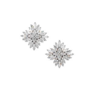 3/4ct Diamond 9K Gold Tomas Rae Earrings