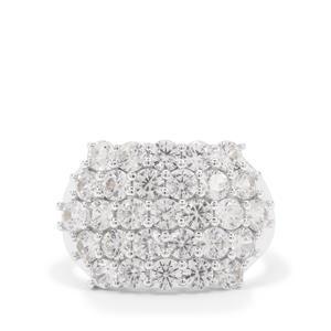 Ratanakiri Zircon Ring in Sterling Silver 5.20cts