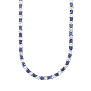 Nilamani Necklace with White Topaz in Sterling Silver 60.82cts