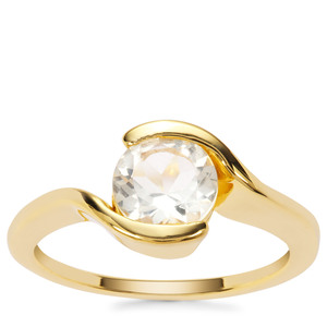 Serenite Ring in Gold Plated Sterling Silver 1.18cts