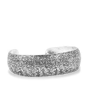 Sterling Silver Oxidized Cuff