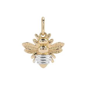 Bumblebee Pendant in 9K Gold