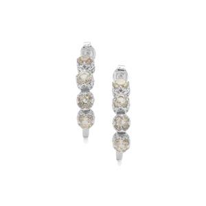 2ct Serenite Sterling Silver Earrings
