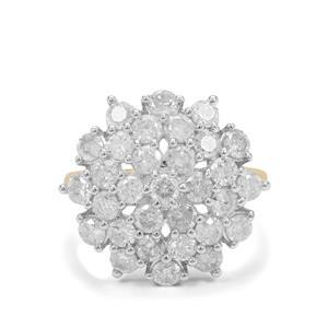 2.70ct Diamond 9K Gold Tomas Rae Ring