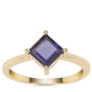 Bengal Iolite Ring in 9K Gold 0.87ct