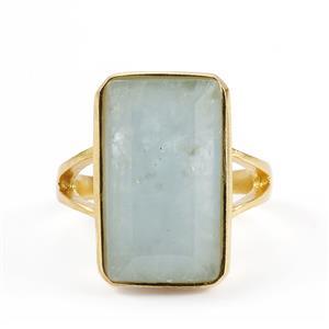 Espirito Santo Aquamarine Ring in Sterling Silver Sarah Bennett 8.29cts