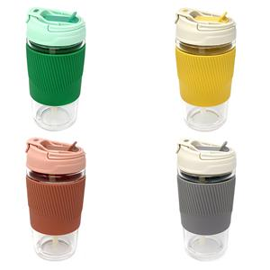 500ml Hot and Cold Drinking Bottle with Silicone Grip in Various Colours