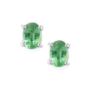 Nuagaon Kyanite Earrings in Sterling Silver 1.92cts