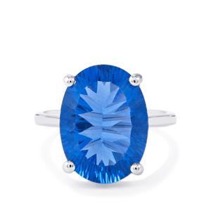10.53ct Baiyang Colour Change Fluorite Sterling Silver Ring