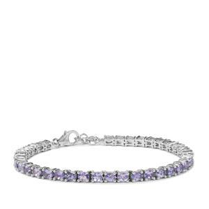 'The Skaiblu Bracelet' Tanzanite Bracelet in Sterling Silver 6.04cts