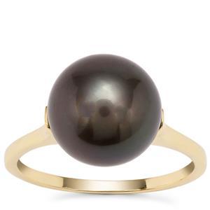 Tahitian Cultured Pearl Ring in 9K Gold (11mm)