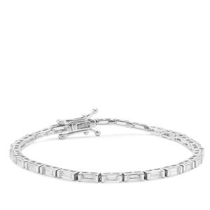 8.10ct Ratanakiri Zircon Sterling Silver Bracelet