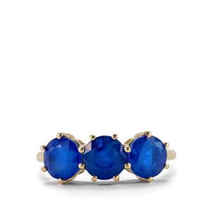 3.19ct Santorinite™ Blue Spinel 9K Gold Ring