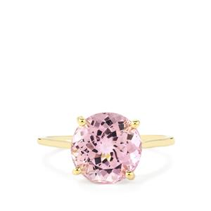 Mawi Kunzite Ring in 14K Gold 4.89cts