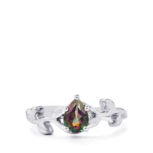 0.76ct Mystic Topaz Sterling Silver Ring
