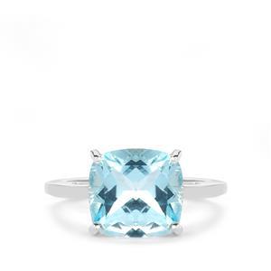 5.04ct Sky Blue Topaz Sterling Silver Ring