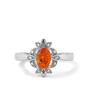 1.04cts Tulelei Sterling Silver Ring