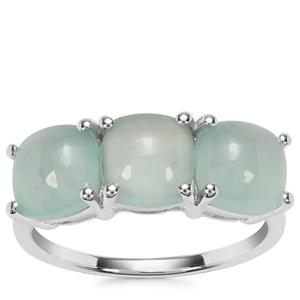 Aquaprase™ Ring in Sterling Silver 4.56cts