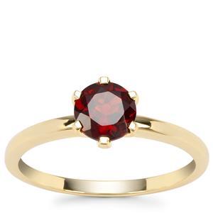 Rajasthan Garnet Ring in 9K Gold 0.97ct