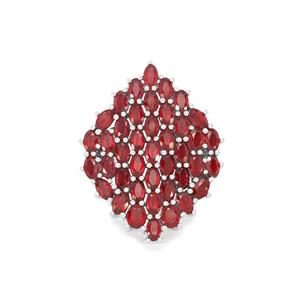 Malagasy Ruby Pendant in Sterling Silver 15.06cts (F)