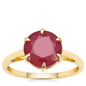 Malagasyc Ruby Ring in 9K Gold 4.22cts