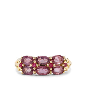 1.33ct Sant Ruby 9K Gold Ring