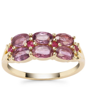 Sant Ruby Ring in 9K Gold 1.33cts