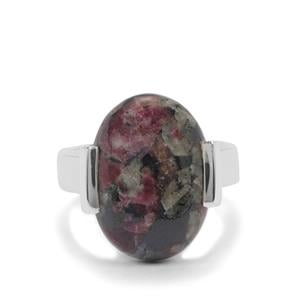 10ct Eudialyte Sterling Silver Aryonna Ring