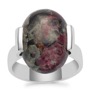 Eudialyte Ring in Sterling Silver 10cts