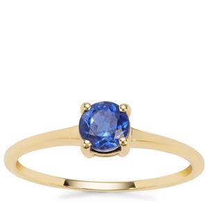 Nilamani Ring in 9K Gold 0.70cts