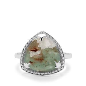 5.95ct Aquaprase™ Sterling Silver Ring