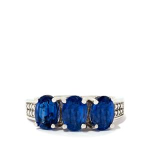 Himalayan Kyanite Ring in Sterling Silver 3.18cts