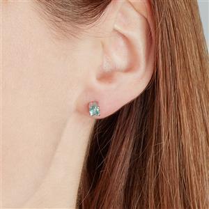 Nuagaon Kyanite Earrings in Sterling Silver 0.94cts