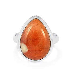 11ct Mookite Sterling Silver Aryonna Ring