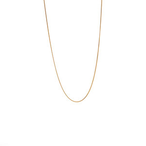 """18"""" 9K Gold Classico Diamond Cut Curb Chain 0.50g"""