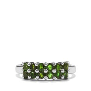 0.95ct Chrome Diopside Sterling Silver Ring