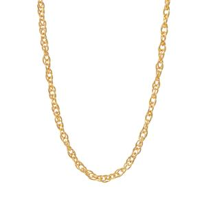 """18"""" Midas Classico Prince Of Wales Chain 1.15g"""