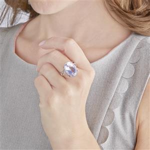 Rio Grande Lavender Quartz Ring in Sterling Silver 11.64cts