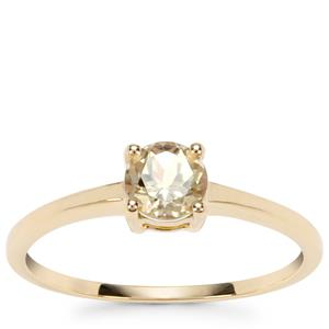 Csarite® Ring in 9K Gold 0.59ct