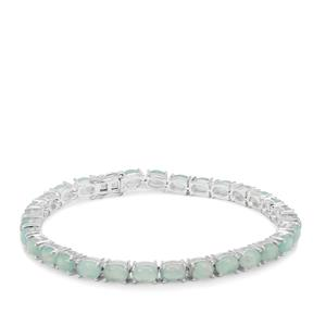 Gem-Jelly™ Aquaprase™ Bracelet in Sterling Silver 13.83cts