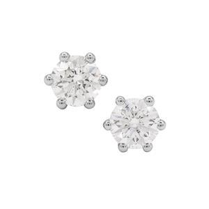 Diamond Earrings in 18K Gold 0.40ct