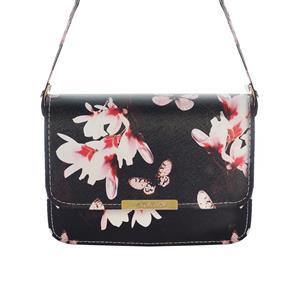 Destello Floral & Butterfly Cross Body Handbag