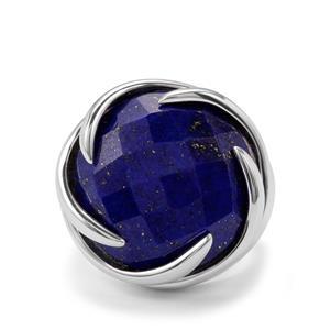 23.32ct Sar-i-Sang Lapis Lazuli Sterling Silver Sarah Bennett Cocktail Classics Ring