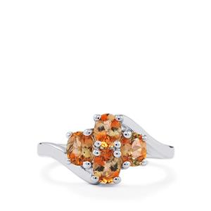 1.36ct Sopa Andalusite Sterling Silver Ring