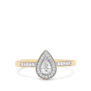 1/3ct Diamond 18K Gold Tomas Rae Ring