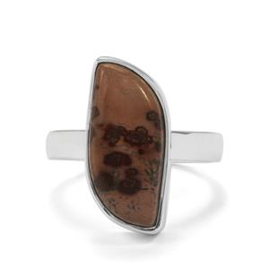 7.19ct Sonora Dendrite Sterling Silver Aryonna Ring