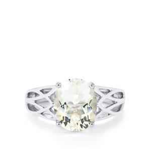2.94ct Itinga Petalite Sterling Silver Ring